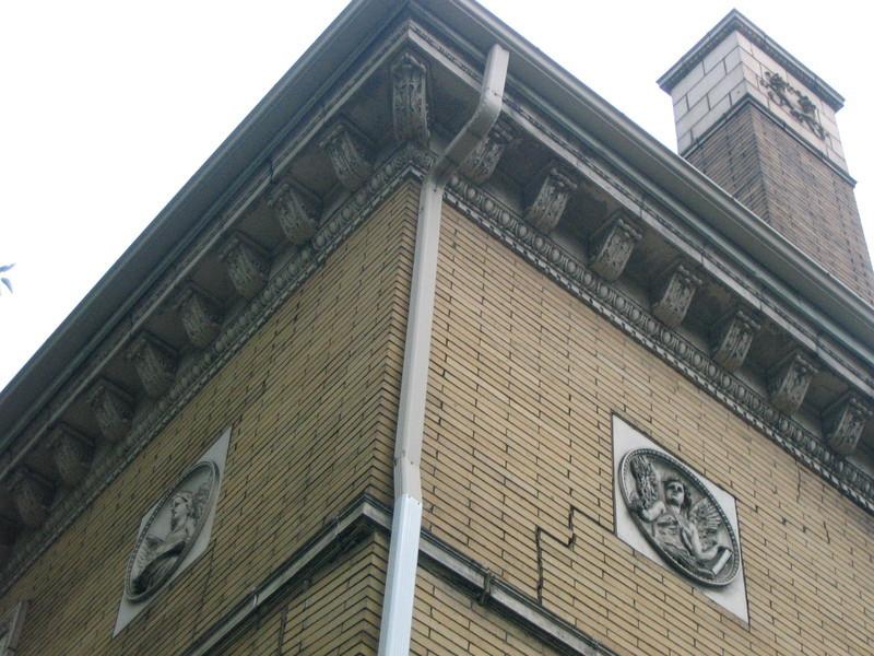 Olney Gallery, Exterior Detail, 2009
