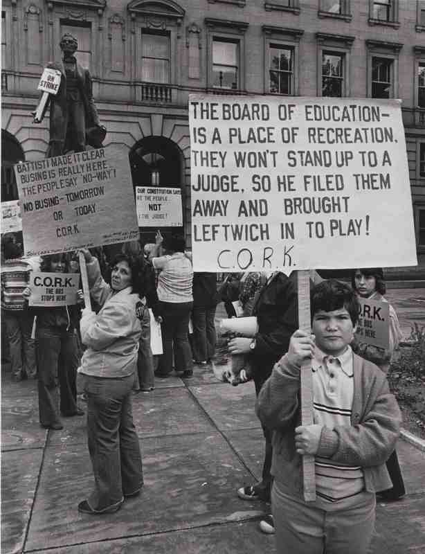 Anti-Busing Protest, 1978