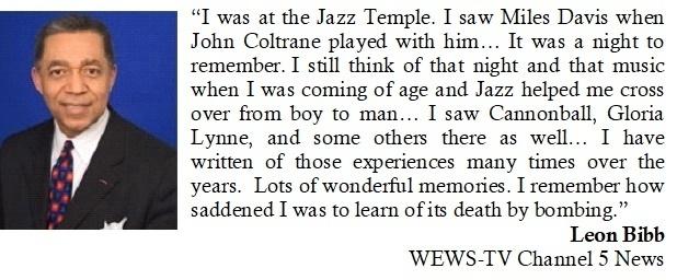 Leon Bibb Recalls the Jazz Temple