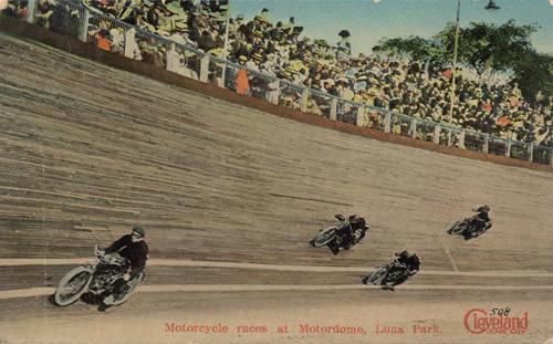 Luna Park Motorcycle Races