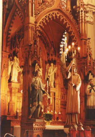 St Joseph's Altar, St. Stephen Church