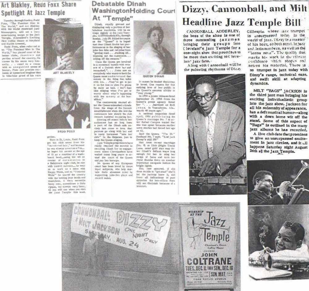 Jazz Temple Newspaper Coverage