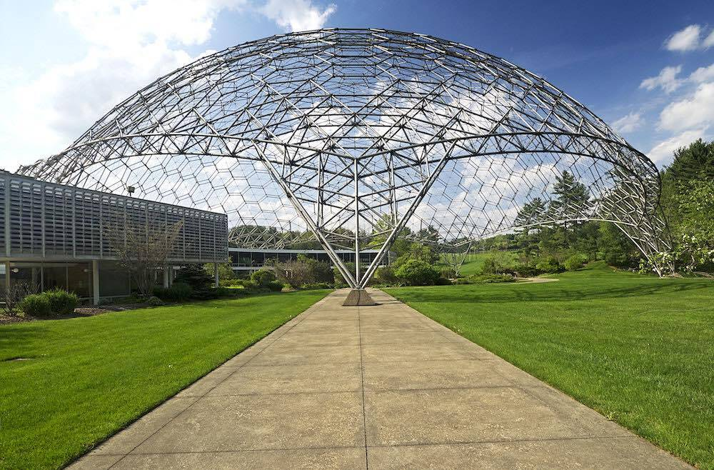 The Geodesic Dome As It Appears Today