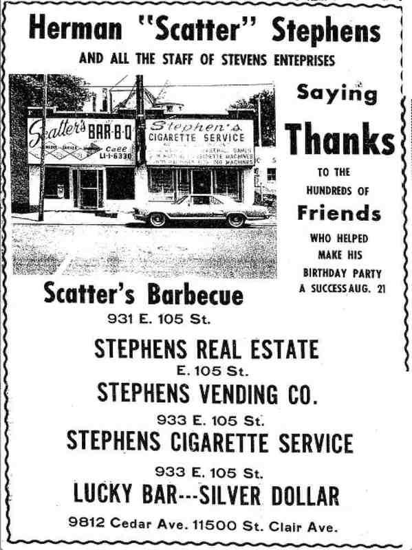 Scatter's Remodeled Storefront, 1967