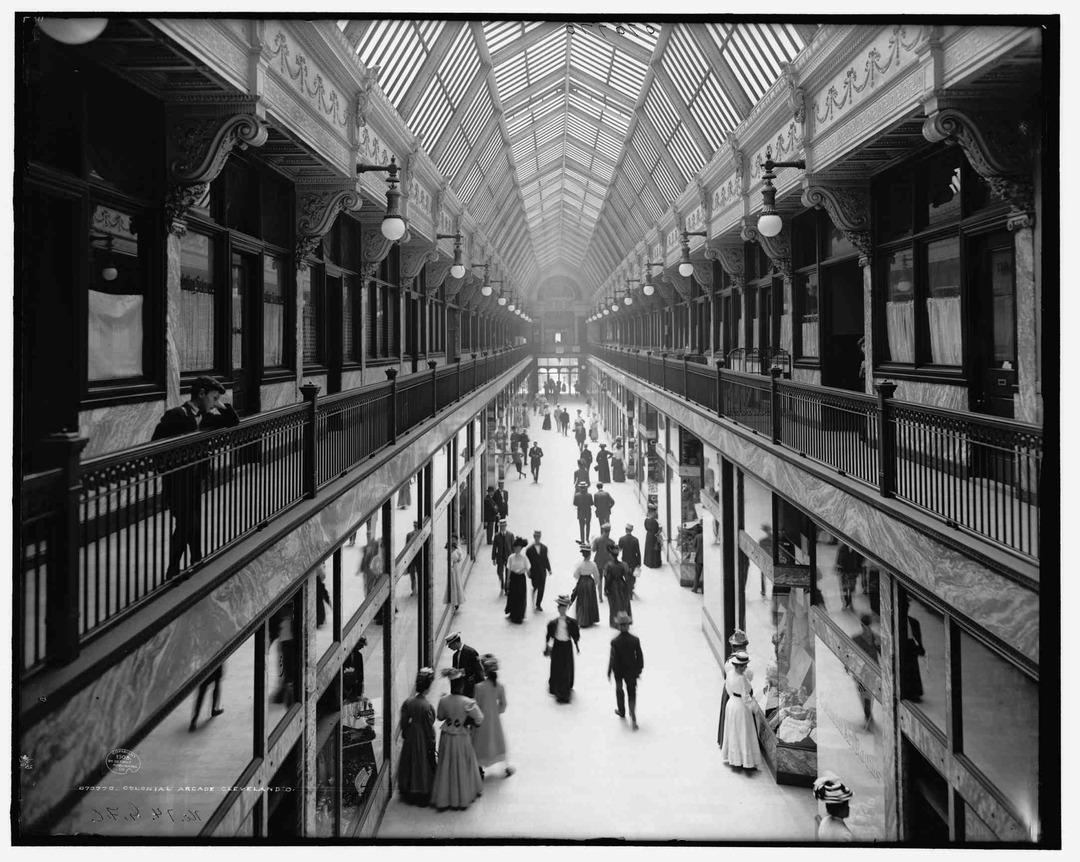 Colonial Arcade, 1908