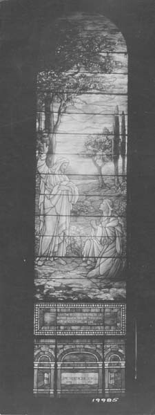 Louis C. Tiffany Stained Glass Window.