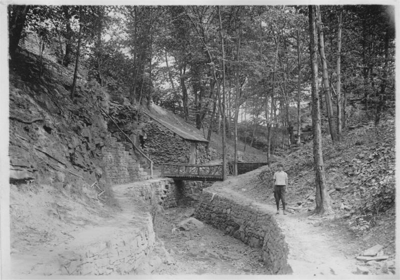Creek Behind Deming House, 1914