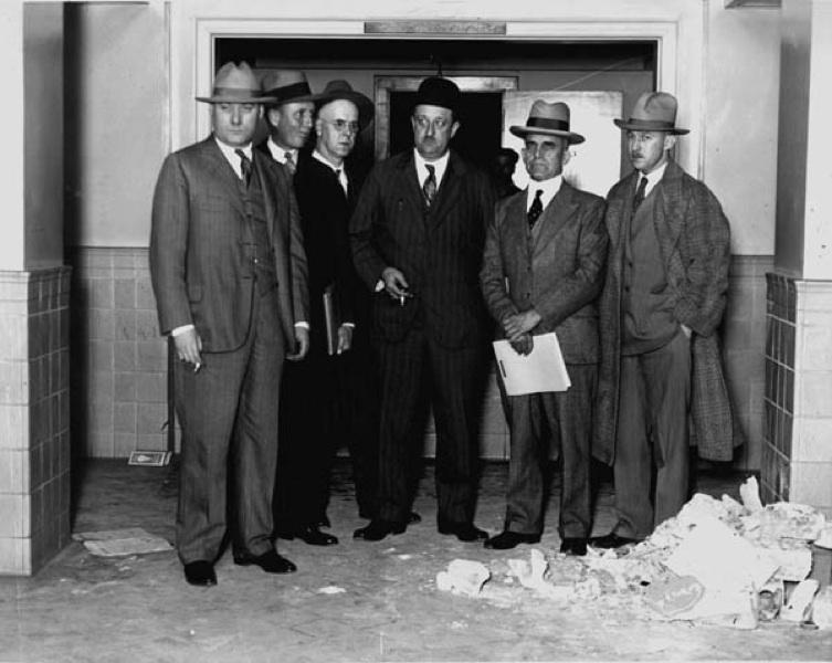 The Ohio Inspection Bureau Investigates Fire