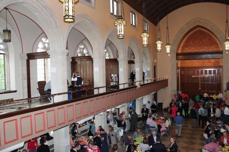 Dedication of Restored Tucker Hall, 2012