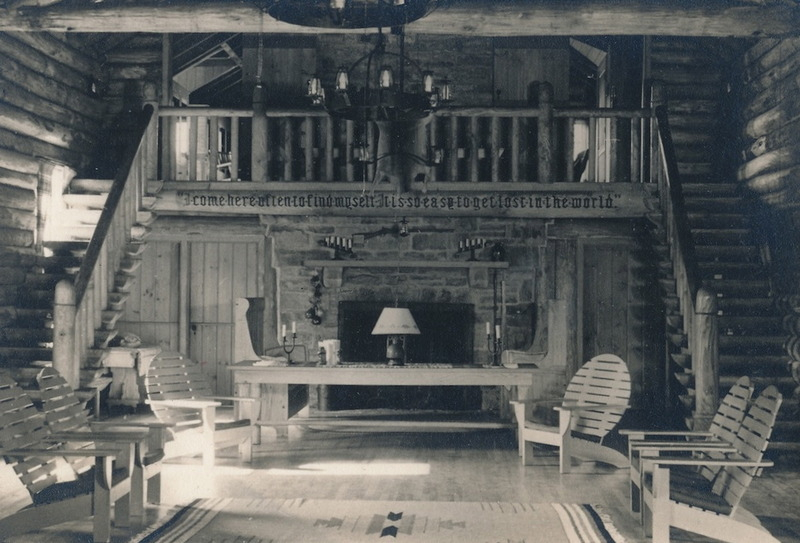Interior of Look About Lodge