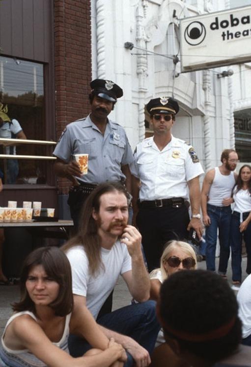 Scene from a Street Fair, 1977