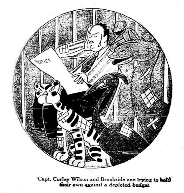 A Depleted Budget, 1934