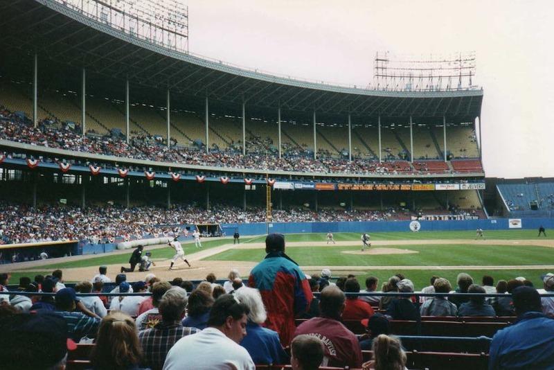 Cleveland Municipal Stadium, 1993
