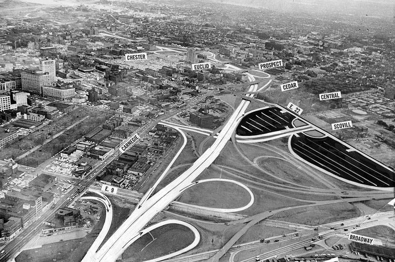 The Carnegie Curve and Central Interchange.