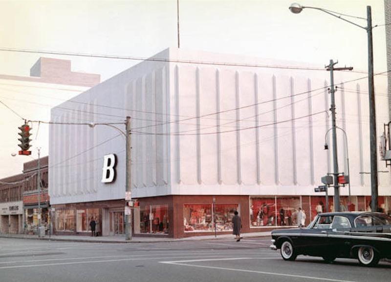 Bailey's Lakewood Store, 1964