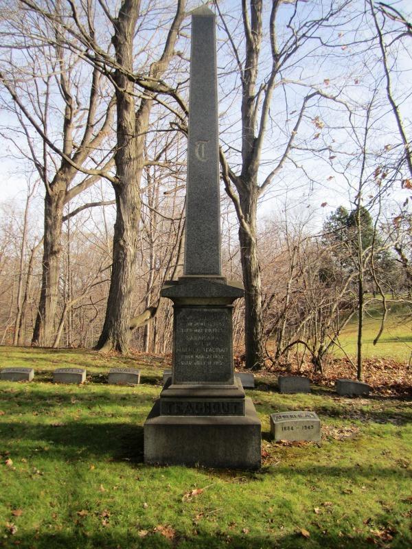 Teachout Family Monument