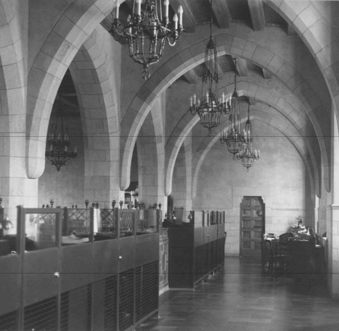 Bank Interior, Circa 1930