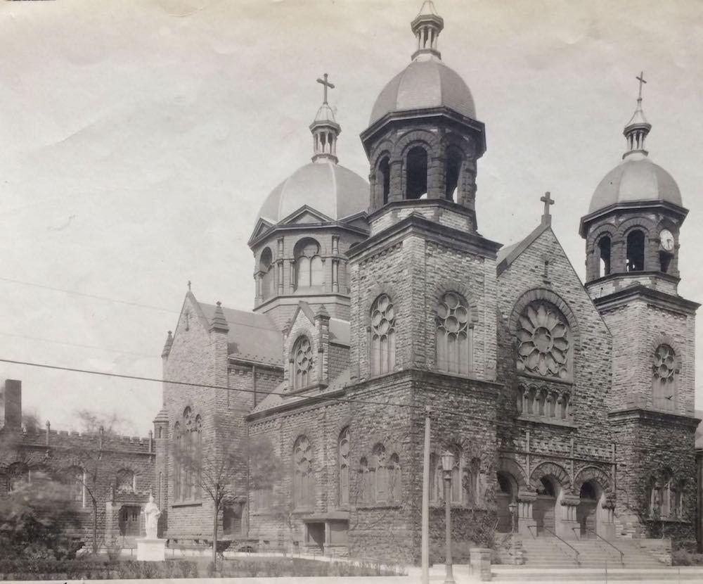 Exterior View of St. Thomas Aquinas