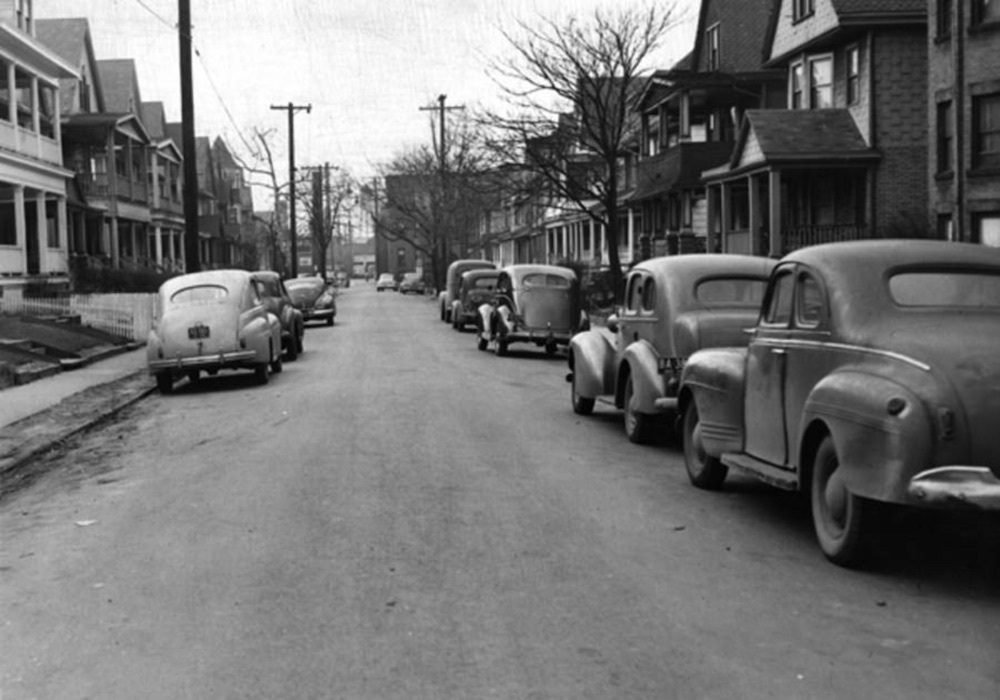 Belvidere Avenue, 1950