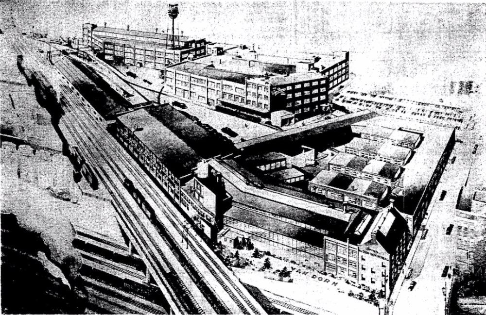 Van Dorn Iron Works Aerial View