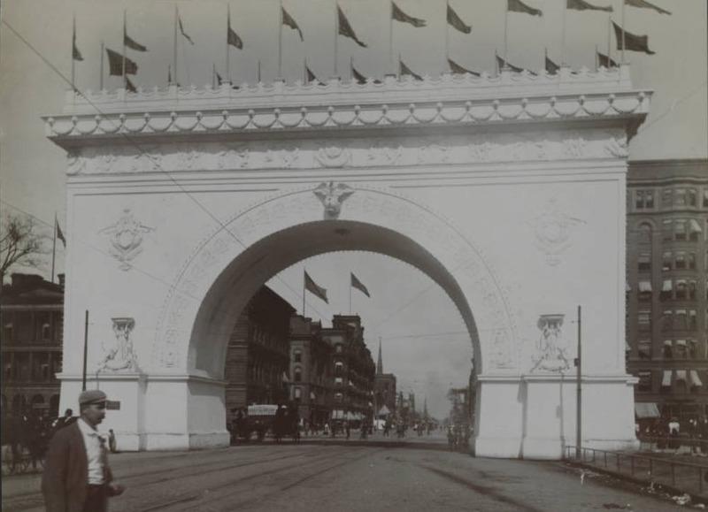 Cleveland Centennial Arch, 1896
