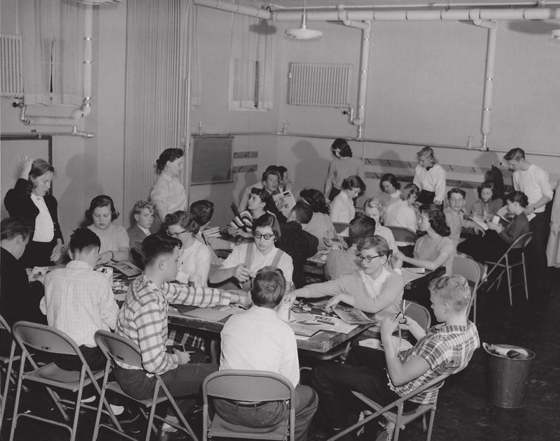 Youth Group Meeting, ca. 1950s