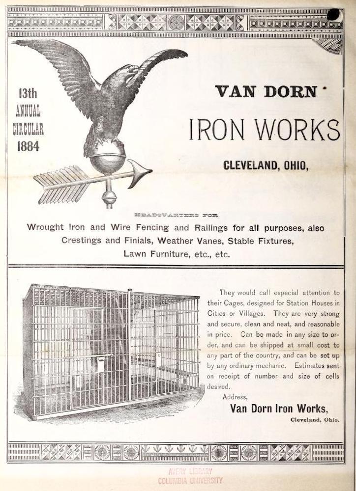 Van Dorn Jail Cell