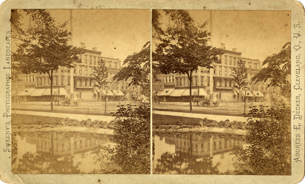 Stereograph of the Rouse Block