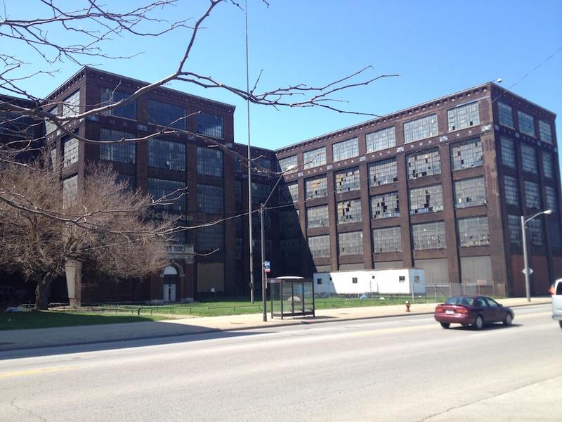 Richman Bros. Factory Exterior, 2015