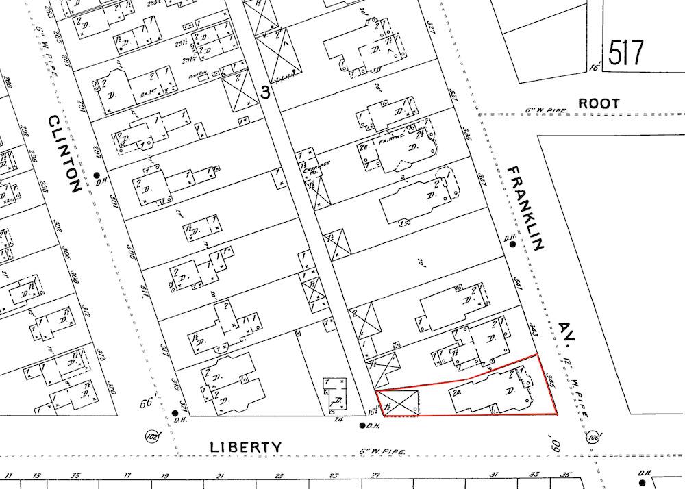 1896 Sanborn Map