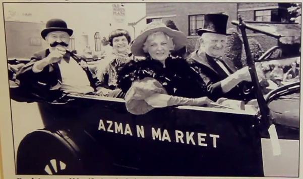 The Azman & Sons Market Parade Float