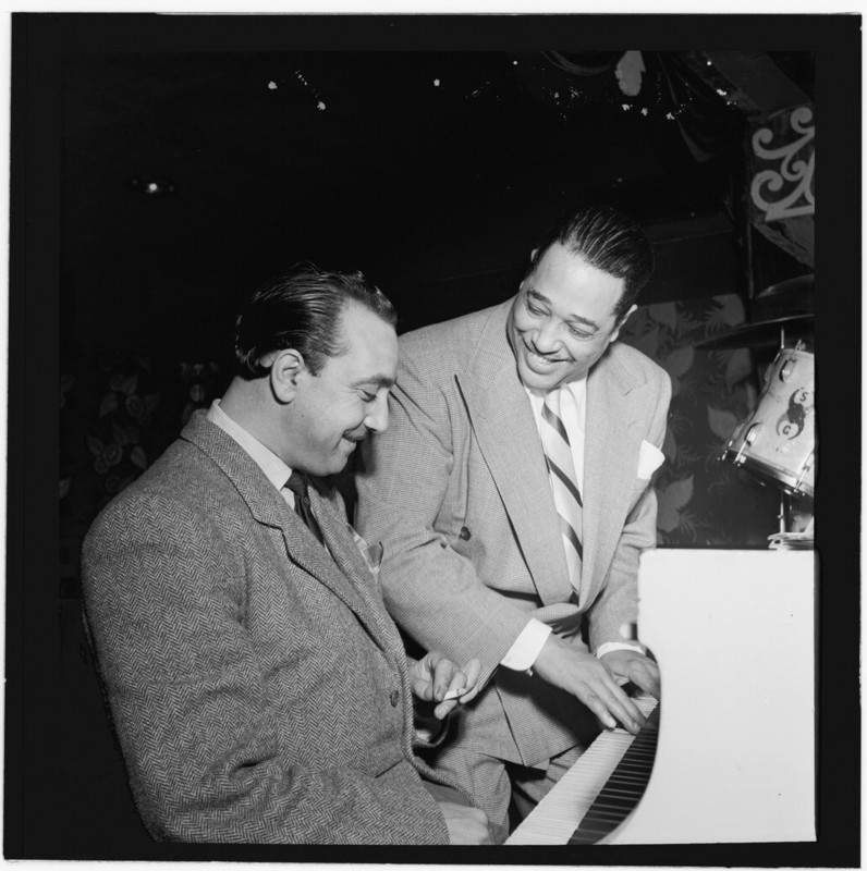 Django Reinhardt and Duke Ellington, 1946