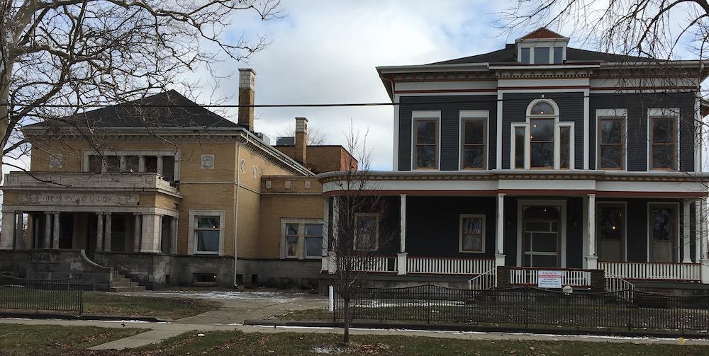 Olney Gallery and Residence During Renovation, 2016