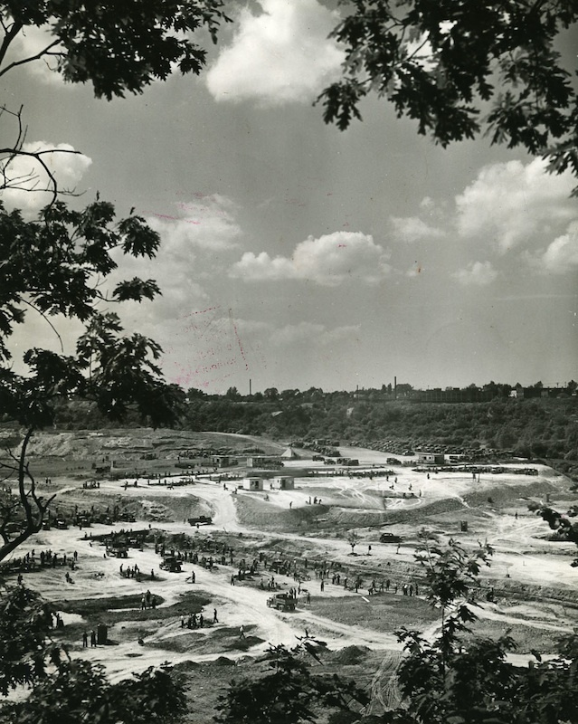 WPA Rebuilds Brookside Park, ca. 1938