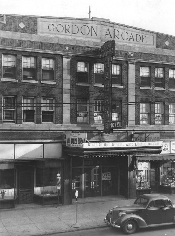 The Gordon Square Arcade, 1944