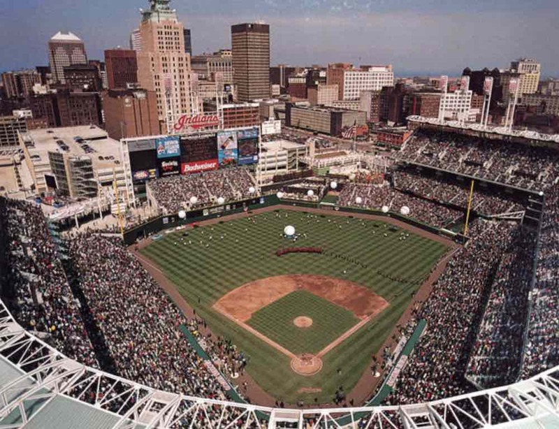 Opening Day at Jacobs Field, 1994
