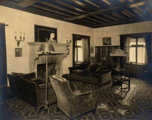 Inside Deming's House
