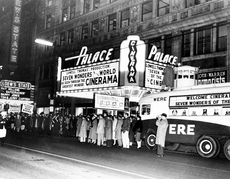 Cinerama at the Palace, 1958