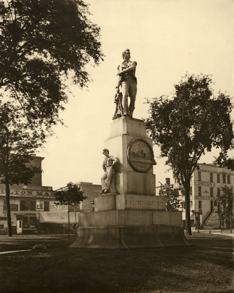 Perry Monument in its Second Location