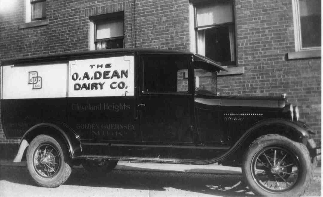 Milk Truck, Circa 1959