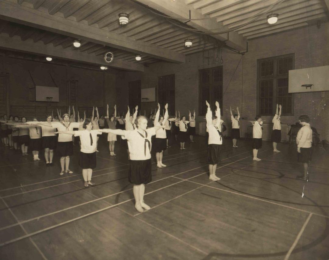 Women's Gym Class, 1928