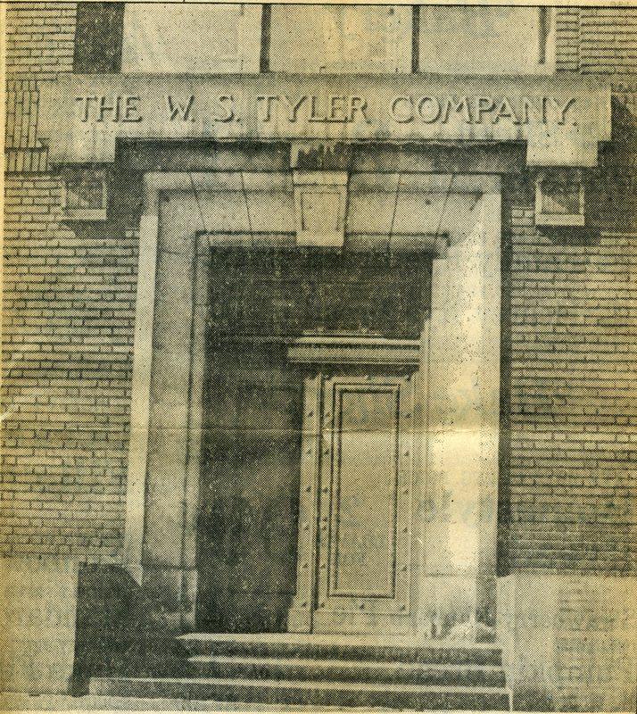 W.S. Tyler Co. Building Entrance