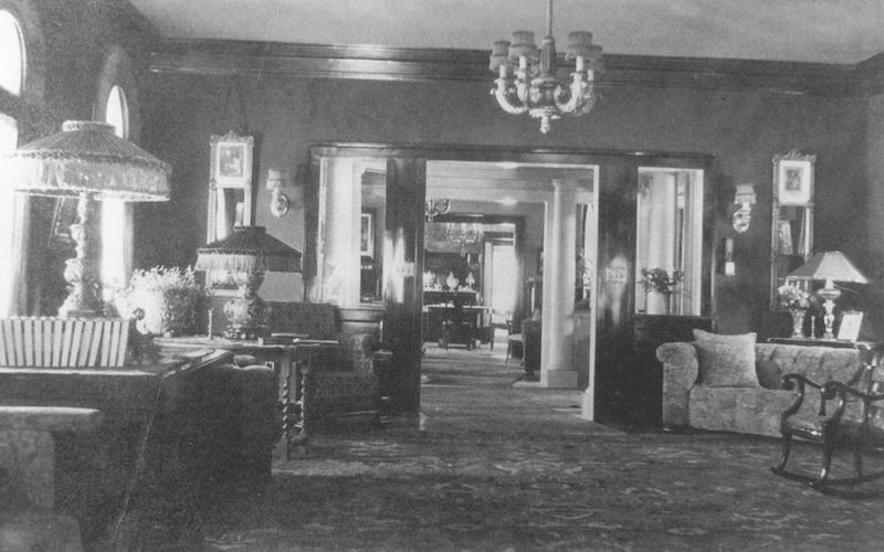 Original Interiors, c. 1915
