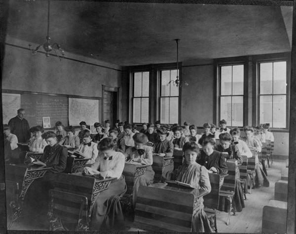 Latin Class, ca. 1900