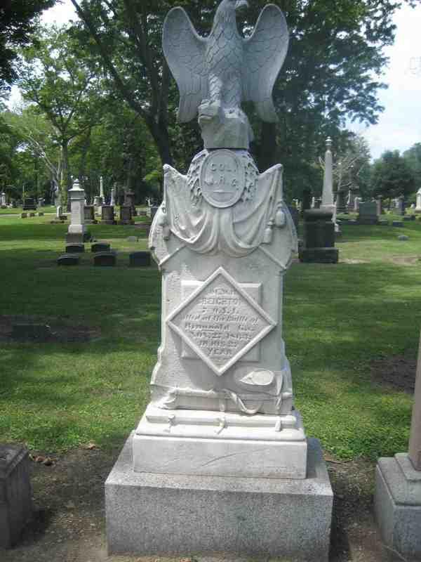Creighton's Grave