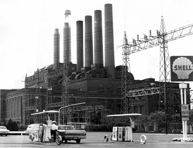 Avon Lake Power Plant, 1967