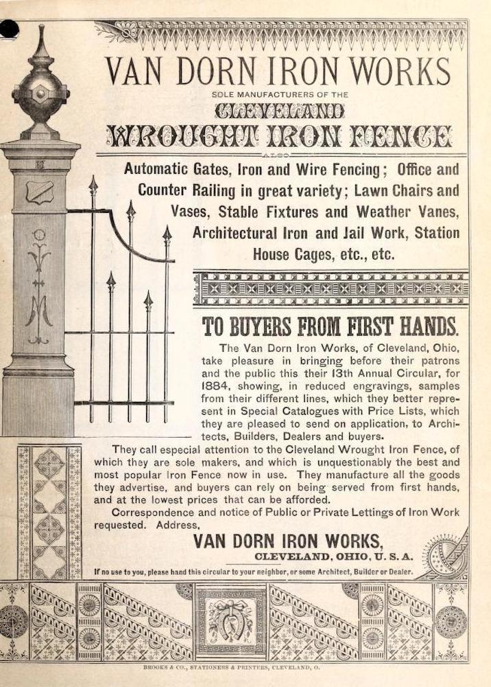 Cleveland Wrought Iron Fence