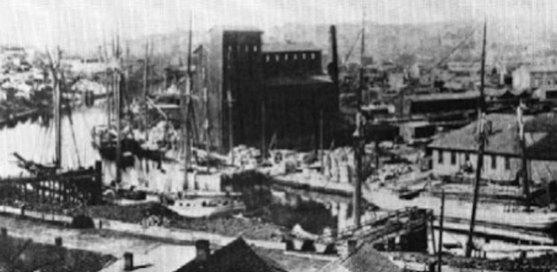 Cuyahoga River Scene, c. 1880