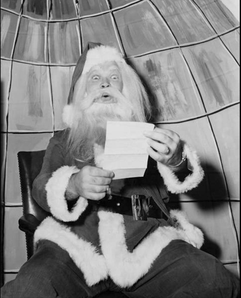 He Played Santa Too
