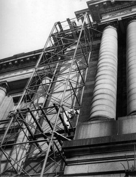 Restorations at City Hall